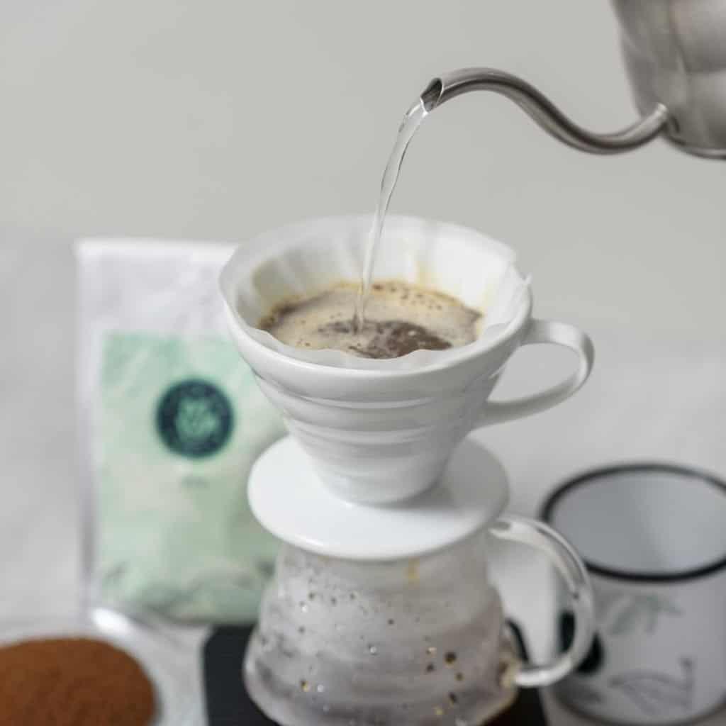 Métodos de Café V60 marca Café de Amalia